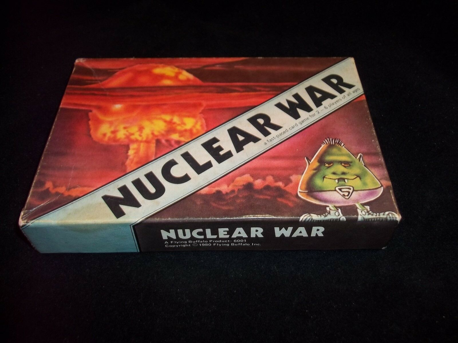 Cold War 1980 Flying Buffalo Complete NUCLEAR WAR Game