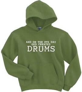 Naughtees-prendas-de-vestir-con-capucha-en-el-8-dia-Dios-creo-los-tambores-de-poli-algodon-de-mezcla