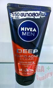 150g-Nivea-Men-Deep-Rapid-Acne-Clear-Facial-Mud-Foam-Salicylic-Power-Face-Wash