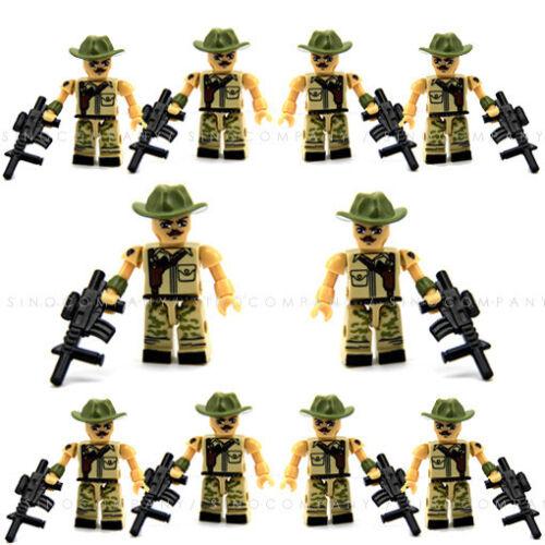 Lot 10PCS GI JOE KRE-O KREO COBRA RECONDO KREON MINIFIGURE SERIES WAVE 1 Toys