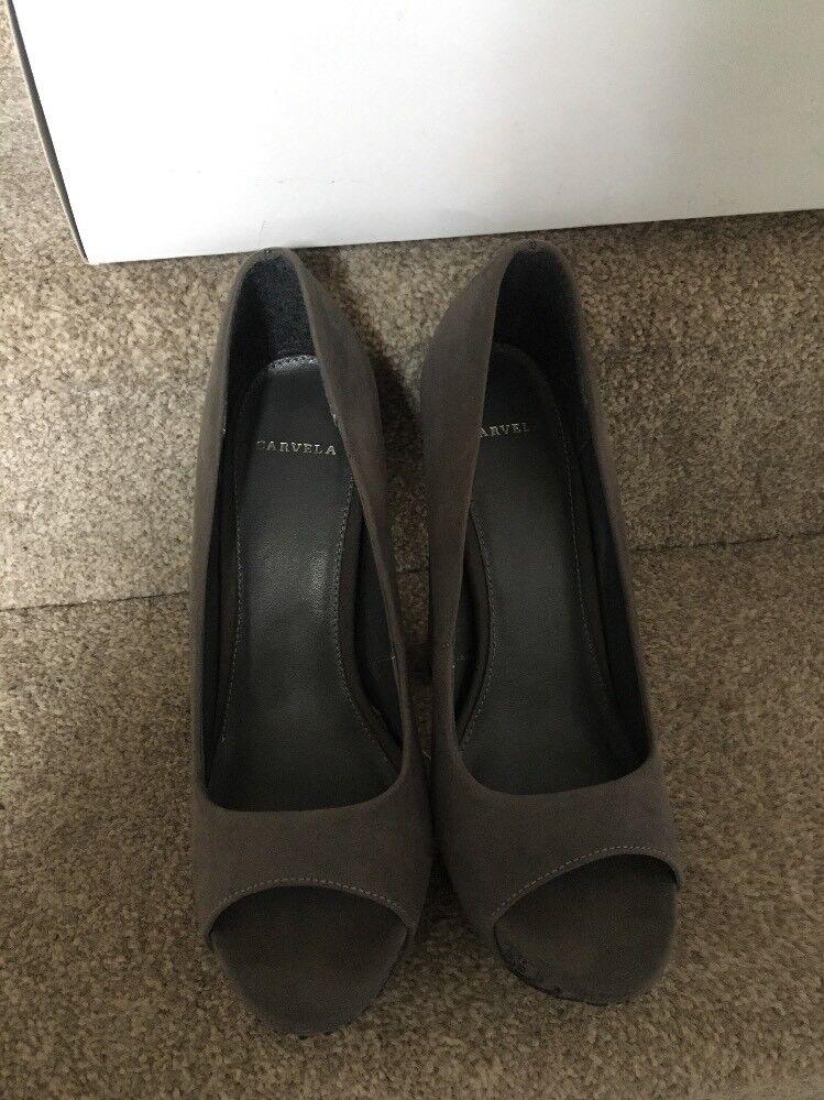 Kurt Geiger Size Carvela Georgie Grey Shoes Size Geiger 40 Cost  Worn Once 58d2e2