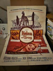 Helen Of Troy une feuille film Affiche 1956