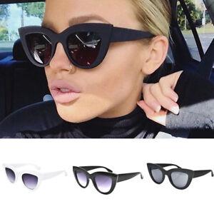 dea5fa467aa54 2018 Women Ladies Cat Eye Sunglasses Retro Vintage Style Rockabilly ...