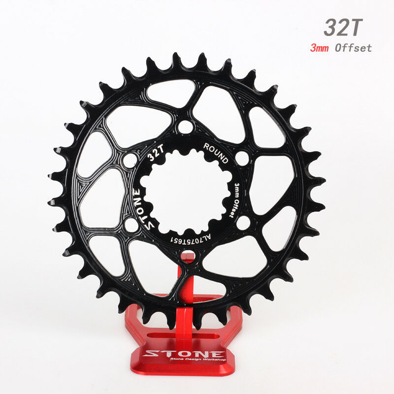 Bicycle Circle Chainring  3mm Offset for Sram GXP Boost 148 Crank XX1 X0 X9 X01  first time reply