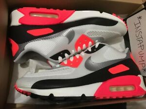 magasin en ligne b6e76 a24d4 Details about Nike Air Max 90 Hyperfuse Infrared Atmos Off White Patta 1 95  97 Rare DS sz 10.5