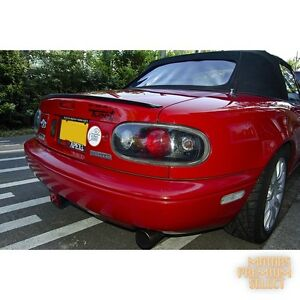 Painted Rear Trunk Boot Lip Spoiler For Mazda Mx5 Miata