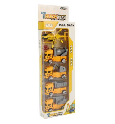 Details about  /5PCS TRUCK TOYS SET CONSTRUCTION CAR TOYS FOR KIDS CHILDREN GIFT