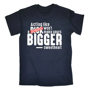 Funny-Tee-Acting-Like-A-Dck-Novelty-Birthday-Christmas-Gift-Mens-T-Shirt