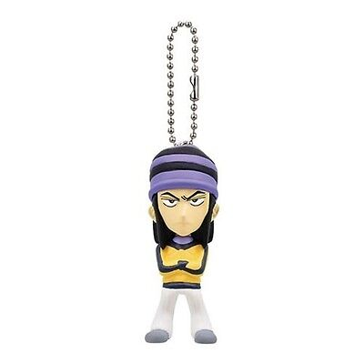 Tiger and Bunny Real Face Swing Barnaby Blue Eyes Mascot Key Chain