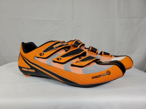 Details about  /Pearl Izumi Octane SL II Road Cycling Shoes Mens Orange Black