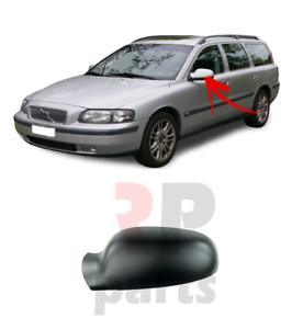 Para-Volvo-V70-II-00-04-S80-98-04-Cubierta-Del-Espejo-De-Ala-Puerta-Tapa-para-pintar-izquierda