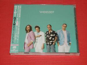 4BT 2019 WEEZER Weezer (Teal Album) JAPAN CD