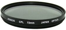 72mm CPL Circular Polarizer Filter for Canon 28-135mm, 28-200mm Lens