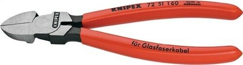 Knipex Side cutter for fiber optic DIN ISO 5743 72 51 160