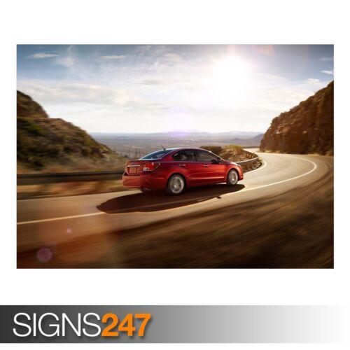 Photo Picture Poster Print Art A0 to A4 SUBARU IMPREZA CAR POSTER AB374