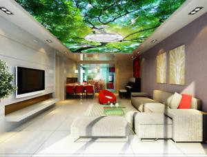 3D Bird Dense Forest 8 Wall Paper Wall Print Decal Wall Deco AJ WALLPAPER Summer