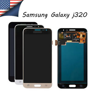 Details about for Samsung Galaxy J3 SM-J320FN J320V/A LCD Touch Screen  Brightness Adjustable