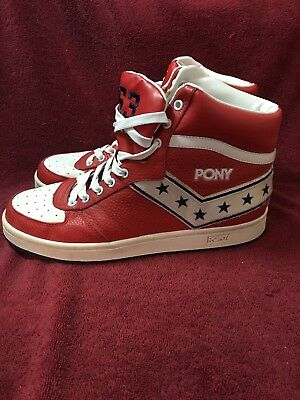 sale retailer 88151 a1ae1 PONY Uptown Darryl Dawkins Choc Thunder 53 Basketball High-Top Sneakers US  11.5