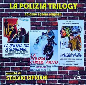 Stelvio Cipriani - La Polizia Trilogy (Original Soundtracks) [New CD] Italy - Im