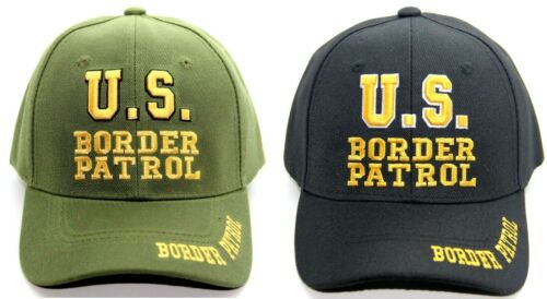 U.S US BORDER PATROL EMBROIDERY HAT BASEBALL CAP ADJUSTABLE ONE SIZE FITS ALL