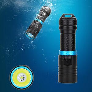 Underwater 100M 5000LM XM-L U2 LED Diving Scuba Flashlight Torch Hunting Light