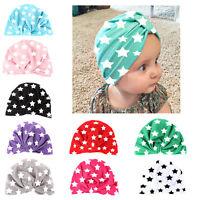 Toddler Kids Girl Boy Hat Baby Infant Soft Cotton Hat Summer Beanie Cap Newly