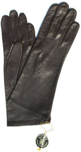 Gloves Leather Ladies Emperor Leather Glove Finger Padded Brown 7 M