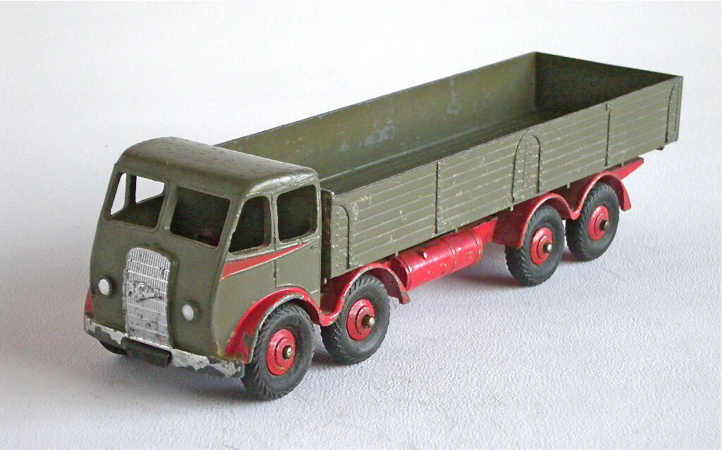 Dinky Supertoys 501 Foden Diesel 8 ruedas vagón-ligeramente rossoo SC