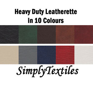 HEAVY-DUTY-FAUX-LEATHER-LEATHERETTE-UPHOLSTERY-VINYL-FABRIC-54-WIDTH