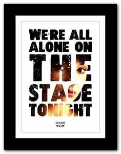 KATE-BUSH-Wow-song-lyrics-typography-poster-art-print-A1-A2-A3-or-A4