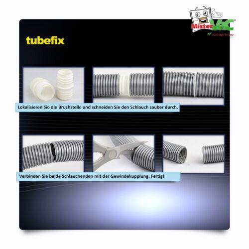 TubeFix Reparaturset passend für Ihren Philips FC 9200 Marathon Schlauch