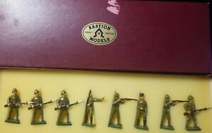 Bastion-Models-54mm-glossy-B-23-Chinese-Regulars-in-action-8pc