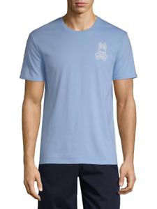Psycho Bunny Men/'s Kumquat Orange Short Sleeve V-Neck T-Shirt