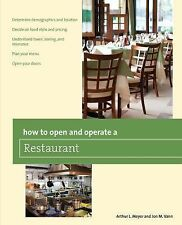 How to Open and Operate a Restaurant Home-Based Business Series