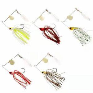 New 3PC Fishing Lure Hard Spinner Bait Crankbaits For Bass Fishing Freshwater