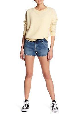 NWT Joe/'s Jeans Denim Cut-Off Shorts Frayed Hem TBS4DR4850 Andreea $128