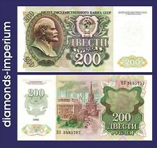 RUSSLAND - 200  RUBEL - 1992