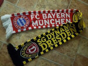 Fanschal Sg Dynamo Dresden Bayern München Benefizspiel 17082015