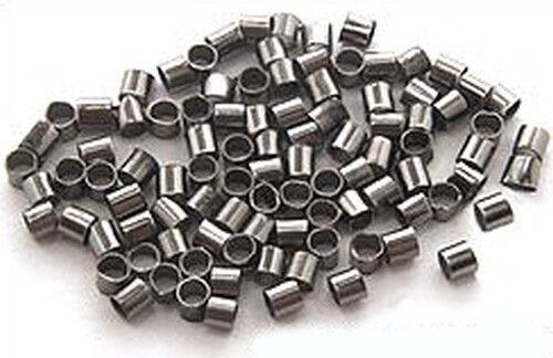 Quetschröhrchen M 2mm schwarz 500Stk