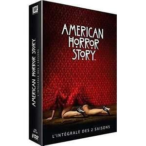 COFFRET DVD SERIE HORREUR : AMERICAN HORROR STORY - SAISONS 1 A 2 INTEGRALES
