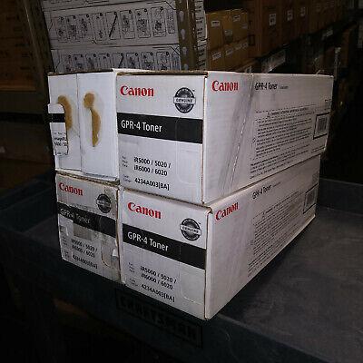 New Canon GPR-4 BLACK Toner Cartridge 4234A003 for ImageRUNNER 5000 5020 6000