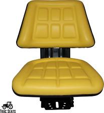 Yellow Trac Seats Tractor Suspension Seat Fits John Deere 820 830 1030 1040