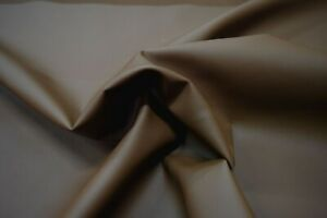 ESPRESSO BROWN PVC FREE POLYURETHANE FAUX LEATHER LEATHERETTE UPHOLSTERY FABRIC