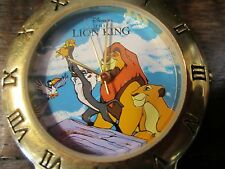Disney The Lion King Collectors Edition 80/8526 Watch brown leather band