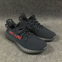 Men Yeezy-Boost knitting black Sneakers Running Athletic Sport Shoes