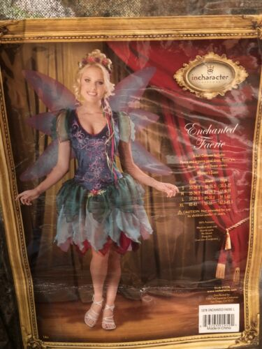 In Character Enchanted Faerie Fairy Costume Adult