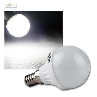 Efficiente Led-goccia-lampada E14 5w Bianco Freddo, 420lm, Lampadina, Lampada E-14 Lampadina-mpe E14 5w Kaltweiß, 420lm, Leuchtmittel, Birne E-14 Glühbirne It-it Non-Stireria