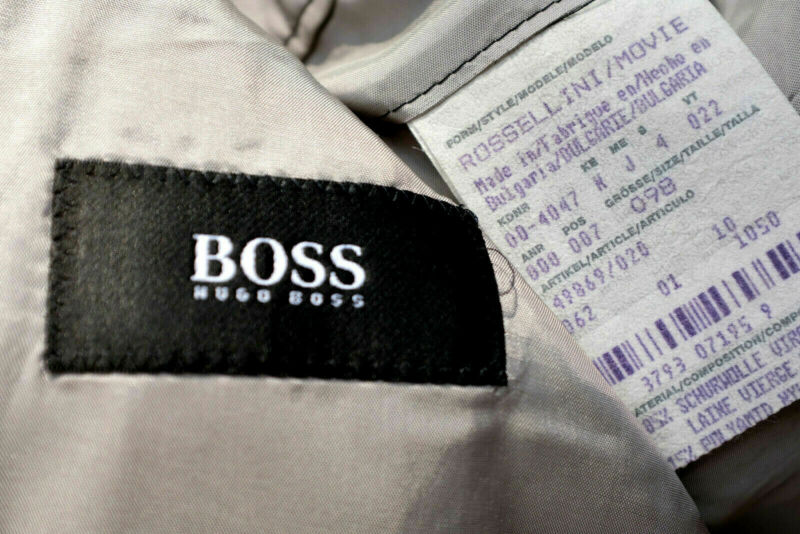 Hugo Boss Gr 98 50 Luxus Herren Anzug Best Von Best Super 2 Teile Lang