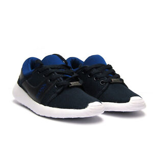 d133f0319c6 BRAND NEW HUGO BOSS JUNIORS KIDS BOYS LEATHER MESH LACEUP TRAINERS ...