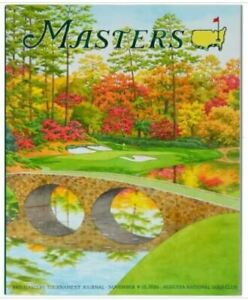 2020-OFFICIAL-MASTERS-GOLF-TOURNAMENT-JOURNAL-PROGRAM-AUGUSTA-NATIONAL-LIMITED